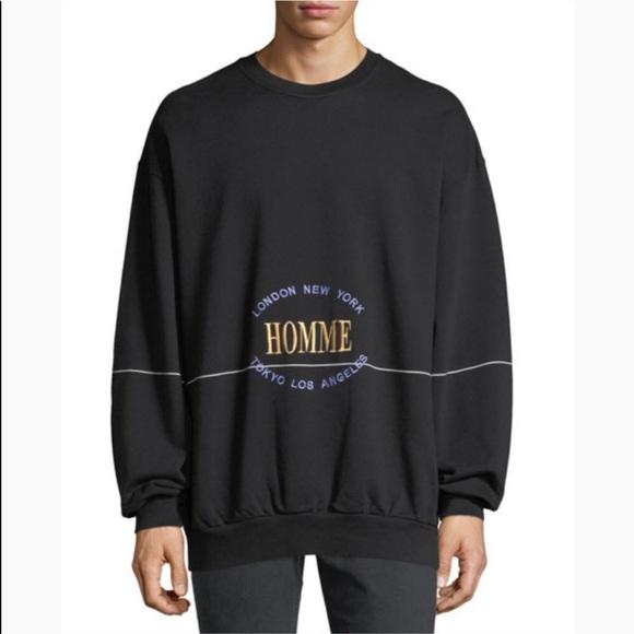 chaussures de séparation 6d5f4 a3b50 BALENCIAGA Homme City Runway Sweatshirt Sweater M